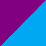 viola e azzurro