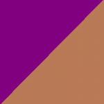 viola e marrone