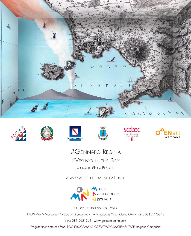 Vesuvio In The Box – Il Vesuvio Multimediale Di Gennaro Regina
