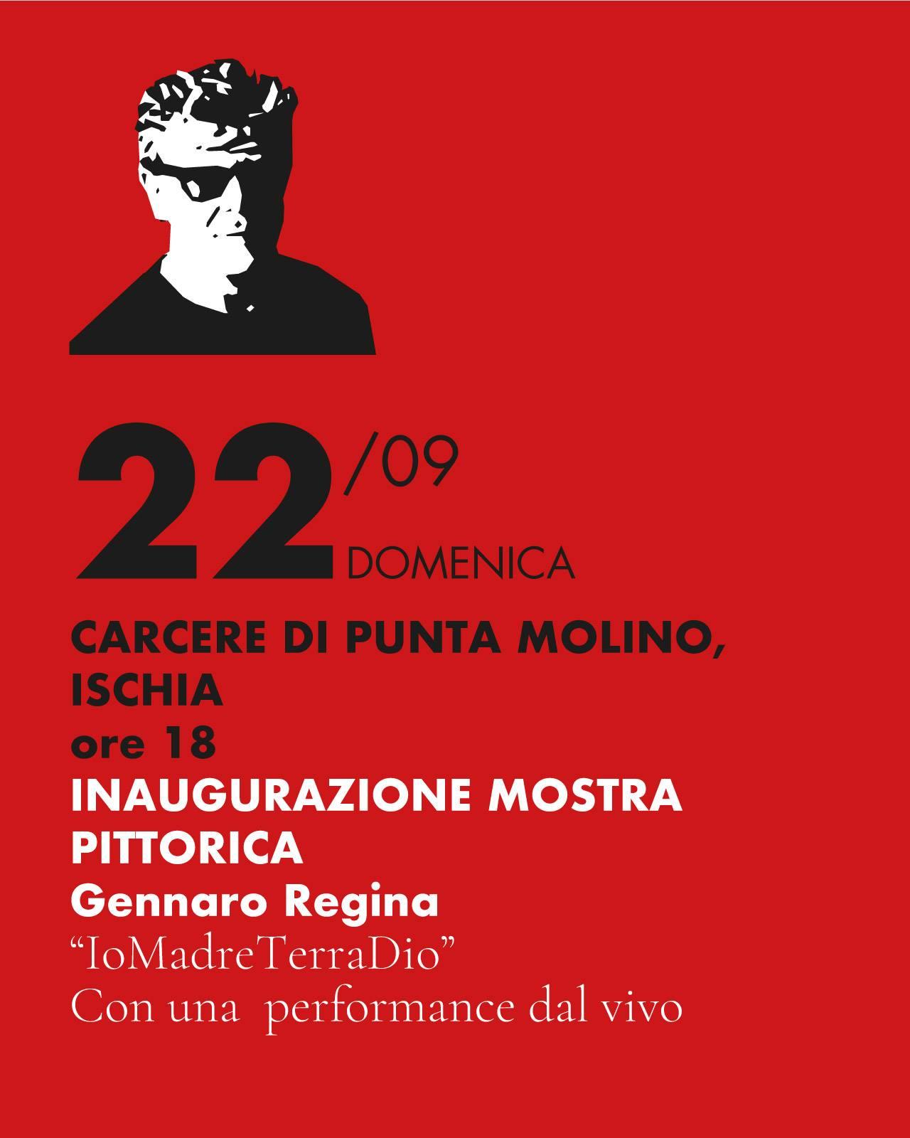 """Gennaro Regina Inaugura """"IoMadreTerraDio"""" A Ischia"""
